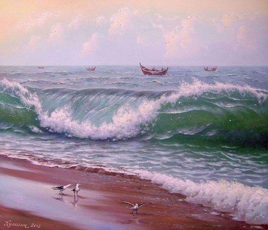 Дыхание океана.