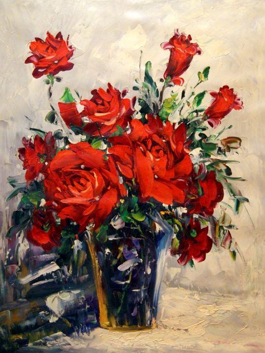 Розы.худ.Л.Гарсия