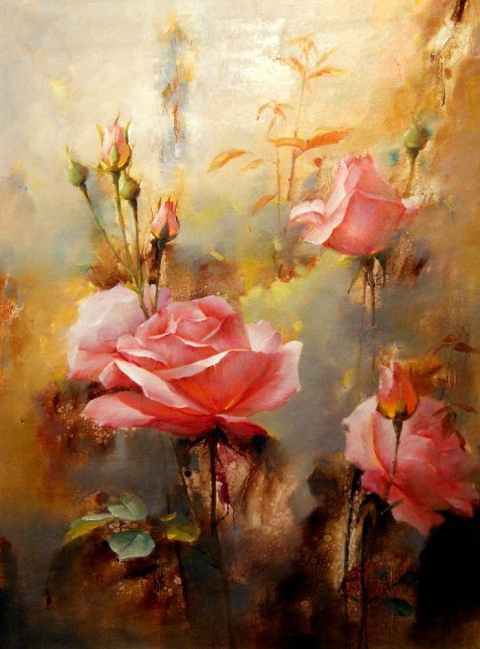 Розы.худ.А.Бруно