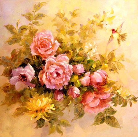 Цветы.худ.А.Джанильятти
