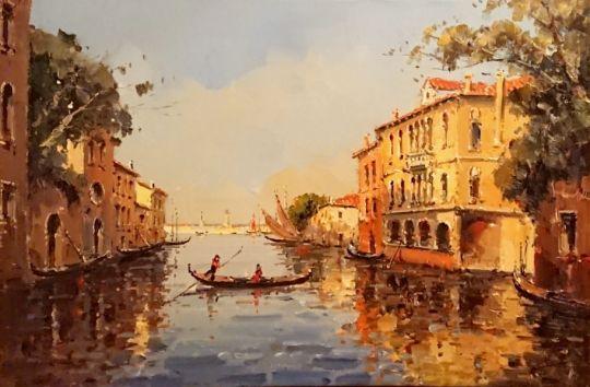 Прекрасная Венеция.худ.А.Бруно