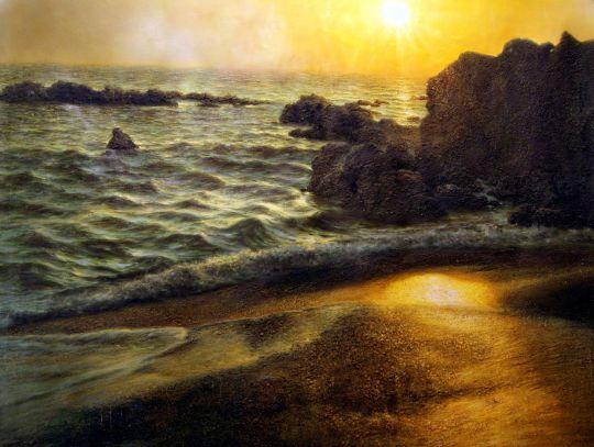 Морской пейзаж.худ.А.Бруно