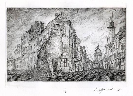 Кот в Санкт-Петербурге
