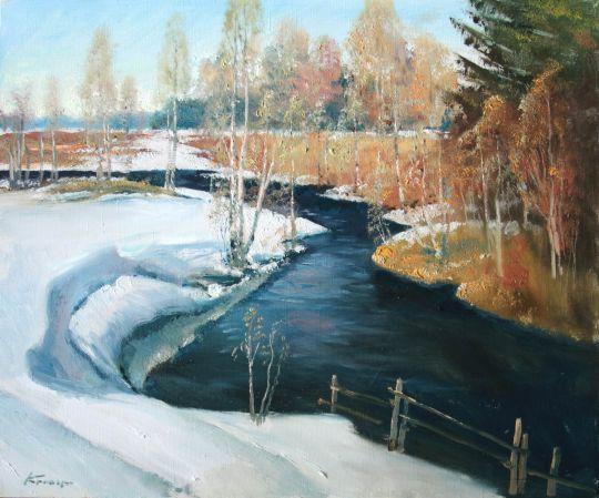 Весна на реке Охта