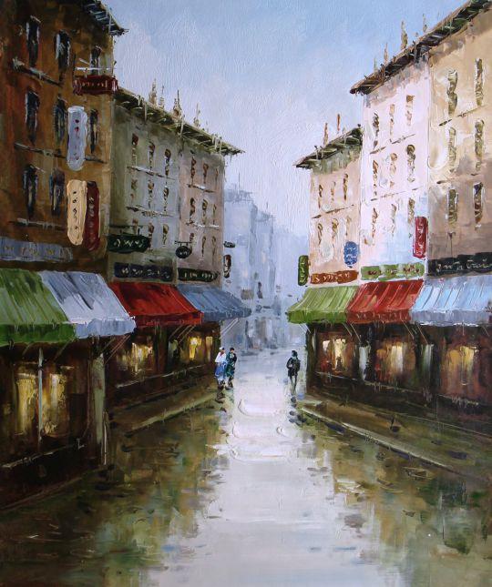 После дождя (картина К. Виверс)