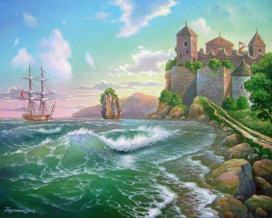 Морская крепость. Вариант 2.