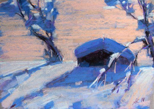 Зимние тени