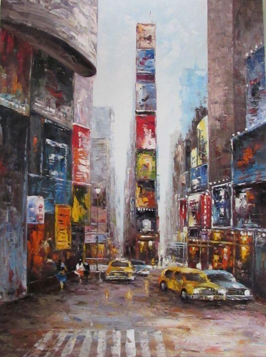 Manhattan-jazz (Манхэттен-джаз). Картина Кристины Виверс