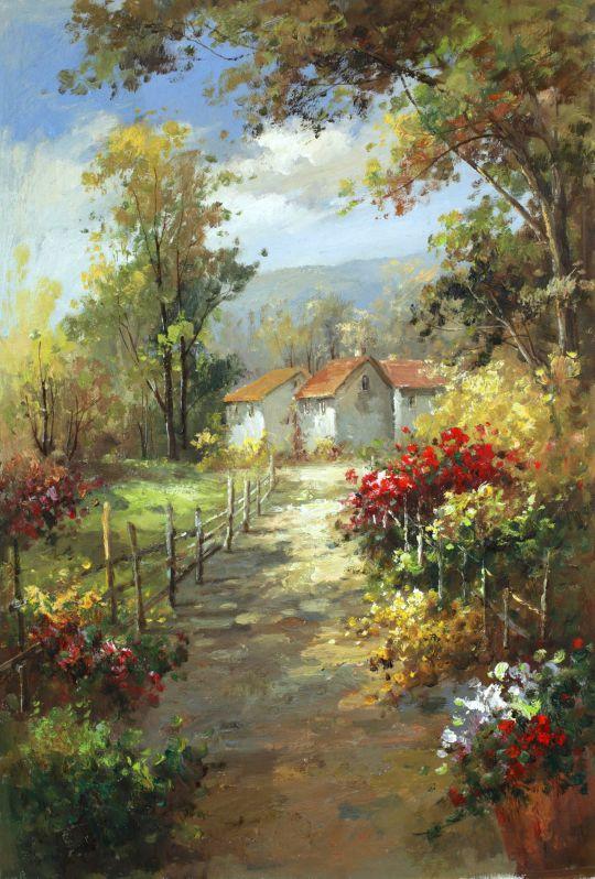 Звон цикад, садов цветенье…