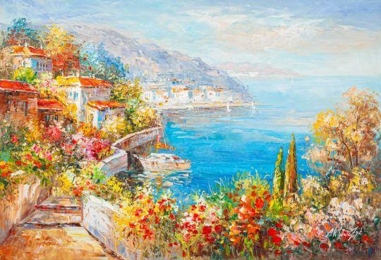 Терраса на Средиземноморье