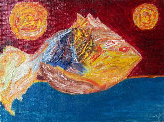 Золотая рыбка и два солнца