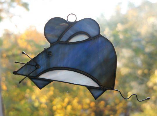Мышка синяя