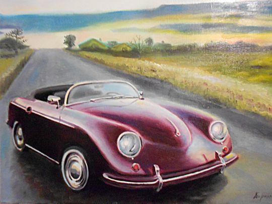 Ретро автомобиль Порше356