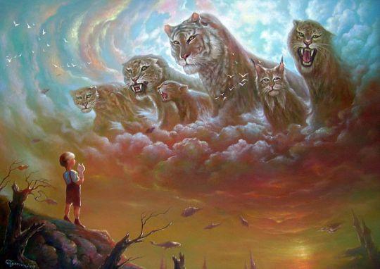 Небесные кошки.