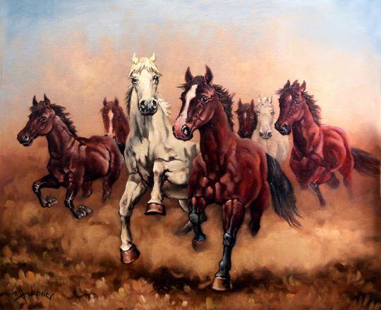 Спешите моих лошадей - семь Ангелов