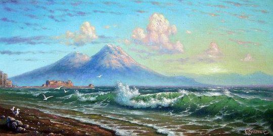 Утро. Неаполитанский залив.
