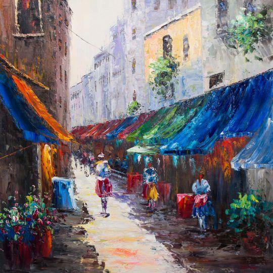 Город. На летних улицах (N3)