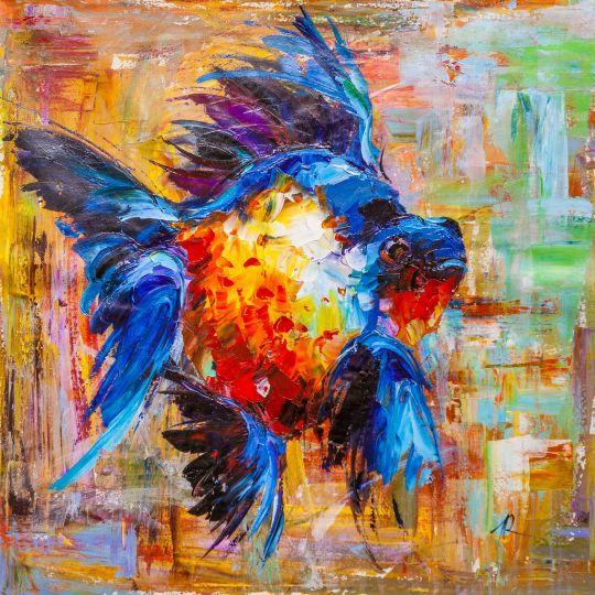 Золотая рыбка для исполнения желаний. N8