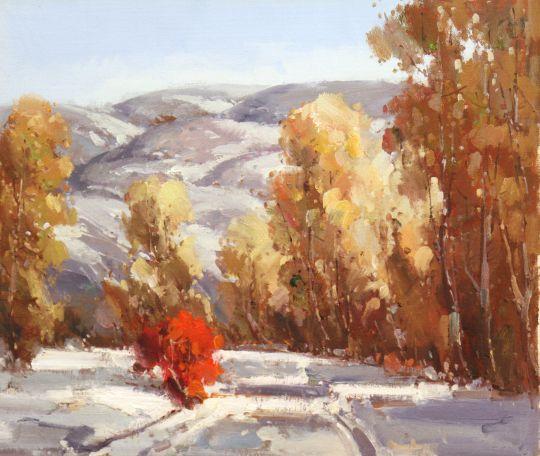 Октябрь. Ранний снег