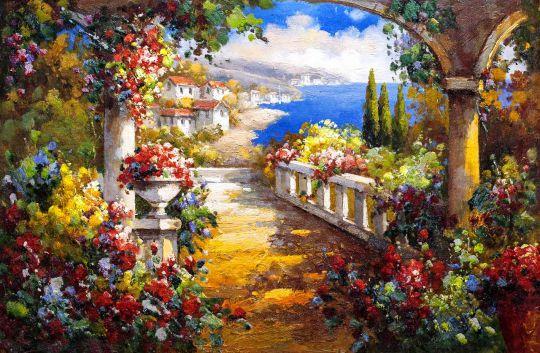 Цветущая арка