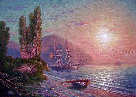 Крымский вид. Аю-Даг.