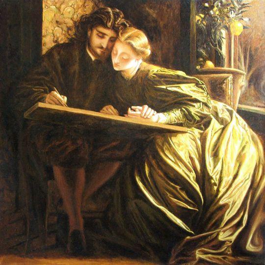 Frederic Leighton - Медовый месяц художника