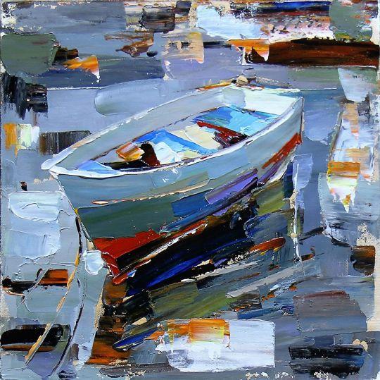 Лодка на воде N4
