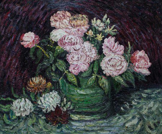 Копия картины Ван Гога Розы, 1886 г.