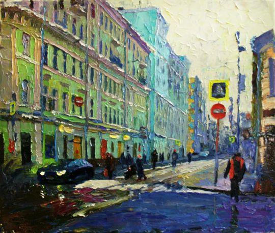 Москва. Старосадский переулок