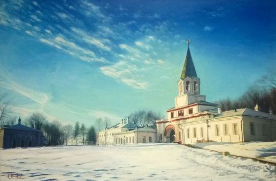 Зима в Коломенском.