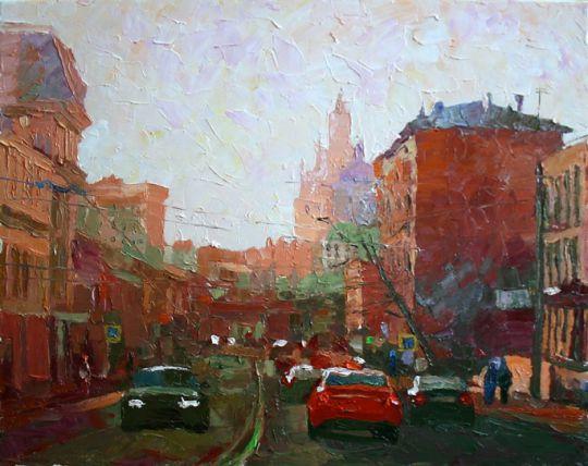 Этюд 165. Москва