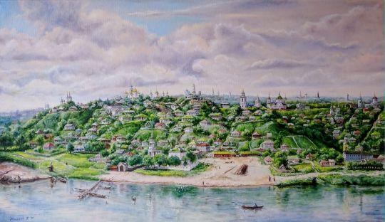 Воронеж. Вид с реки