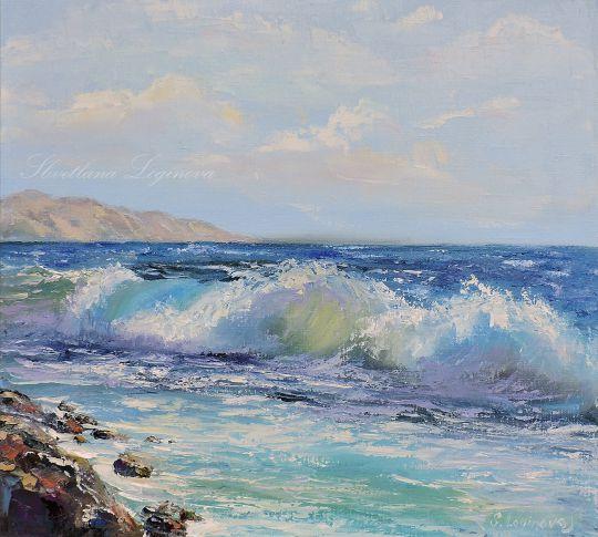 Сияние моря