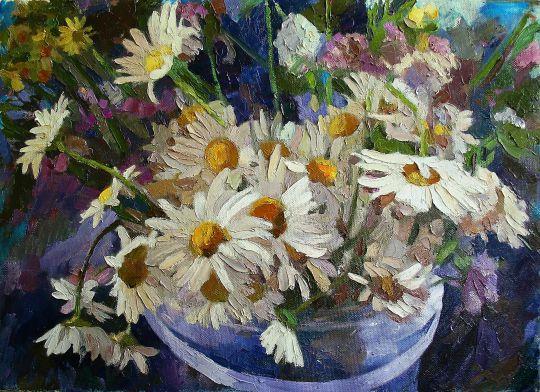 Цветы №25. Ромашки