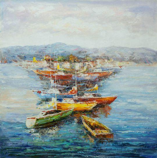 Средиземноморье. Парусники и лодки