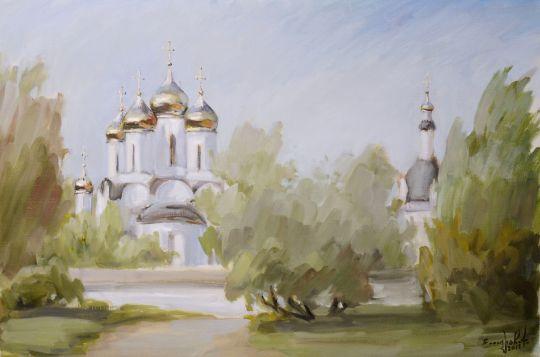 У стен Никольского монастыря