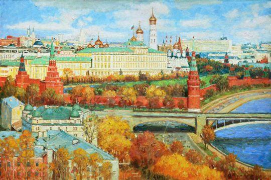 Моя золотая Москва
