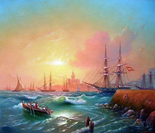 Испанский порт.
