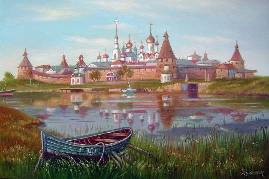 Соловецкий монастырь.