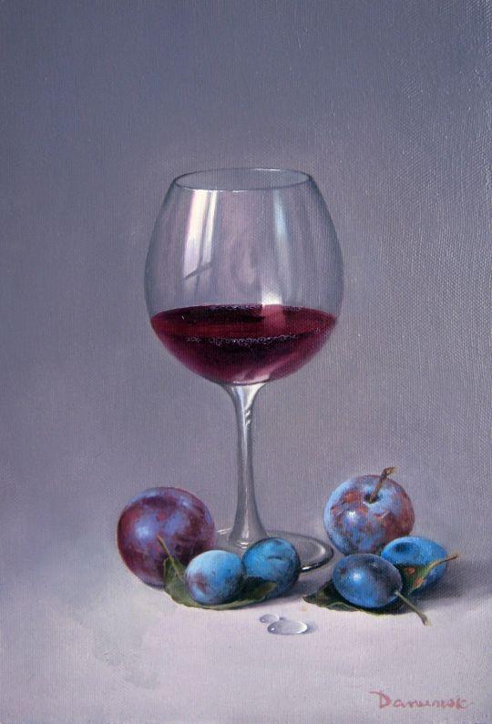 Вино и сливы