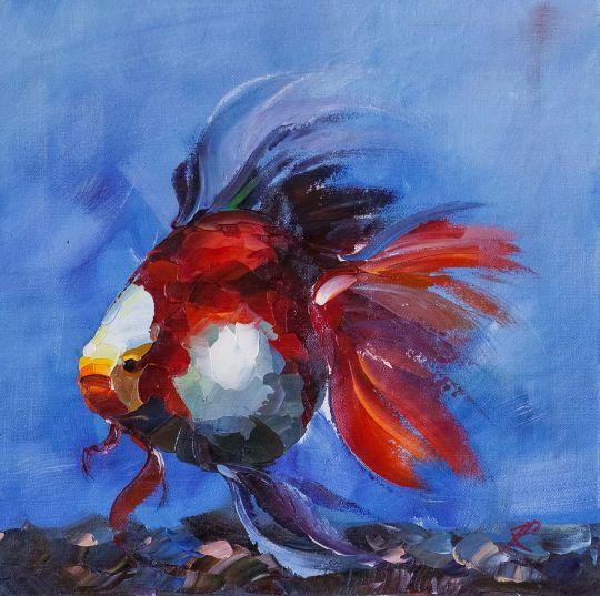 Золотая рыбка для исполнения желаний. N10