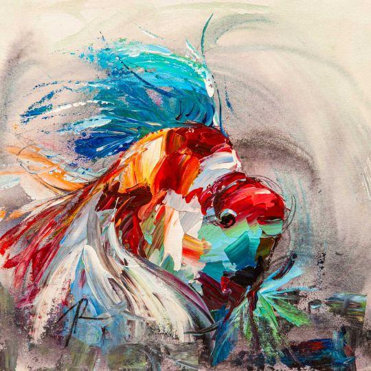 Золотая рыбка для исполнения желаний. N11
