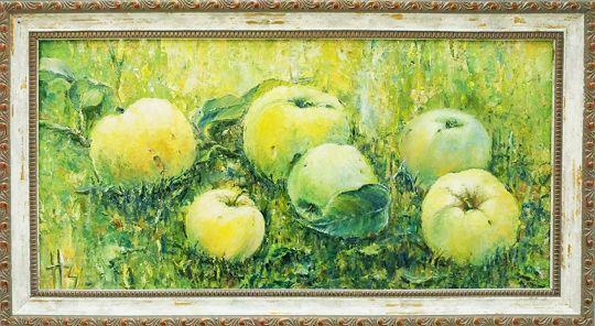 Картина маслом Антоновка