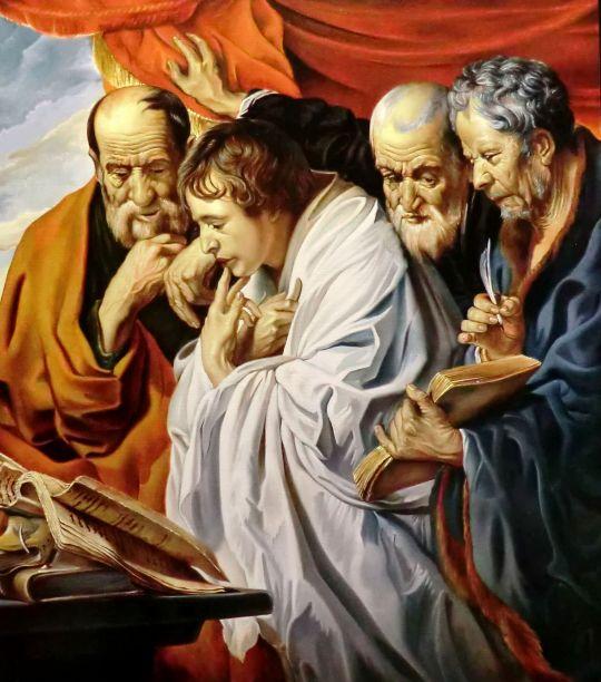 Четыре Евангелиста (копия Йорданса)