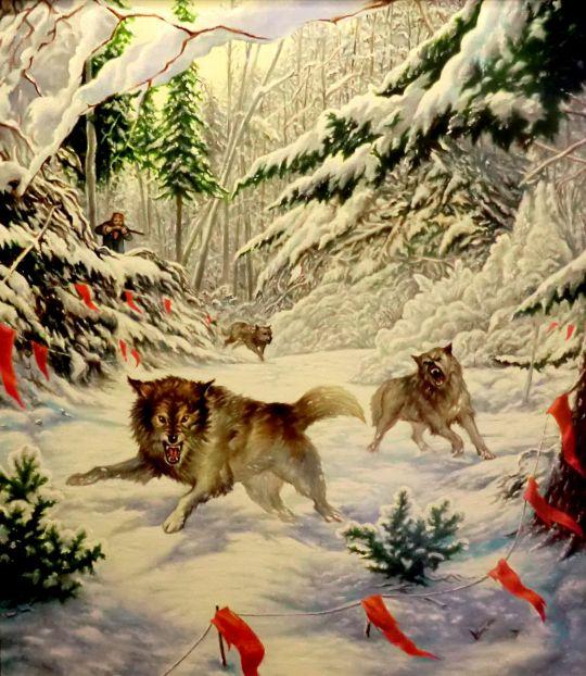 Охота на волков (копия Данчуровой)