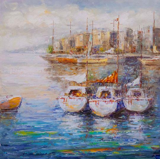Лодки у причала N2