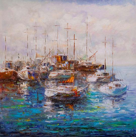 Лодки у причала N5