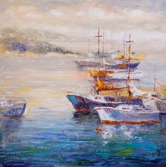 Лодки у причала N6