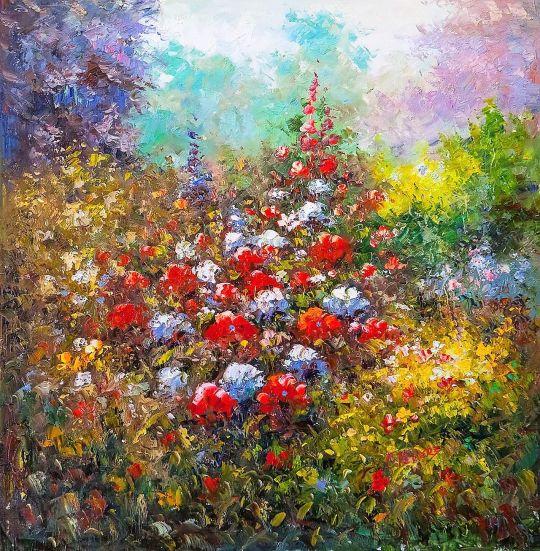 Цветущий сад N3