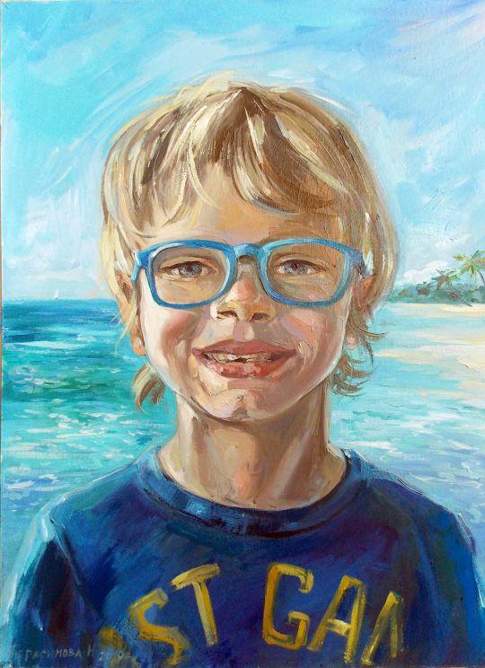 Портрет маленького Пьера